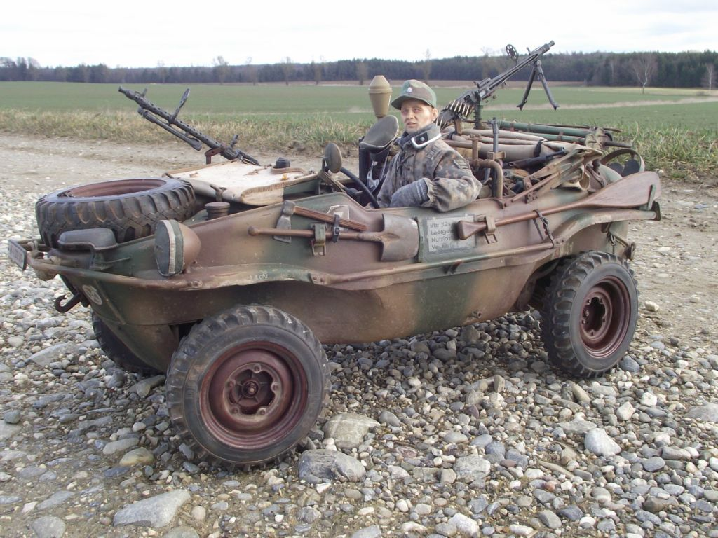 schwimmwagen 166 rc 1 6 rc panzer. Black Bedroom Furniture Sets. Home Design Ideas