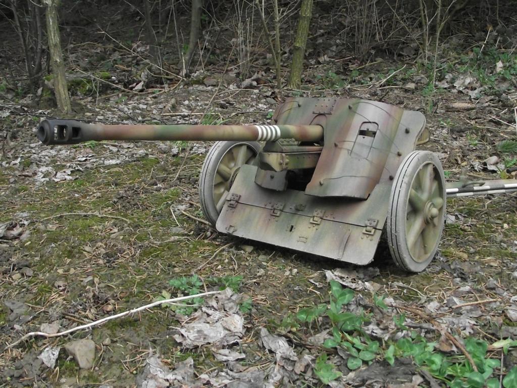 German 50 Mm Anti Tank Gun: World At War (WWI, WWII, & Civil Wars) 5cm PaK 38 Antitank Gun