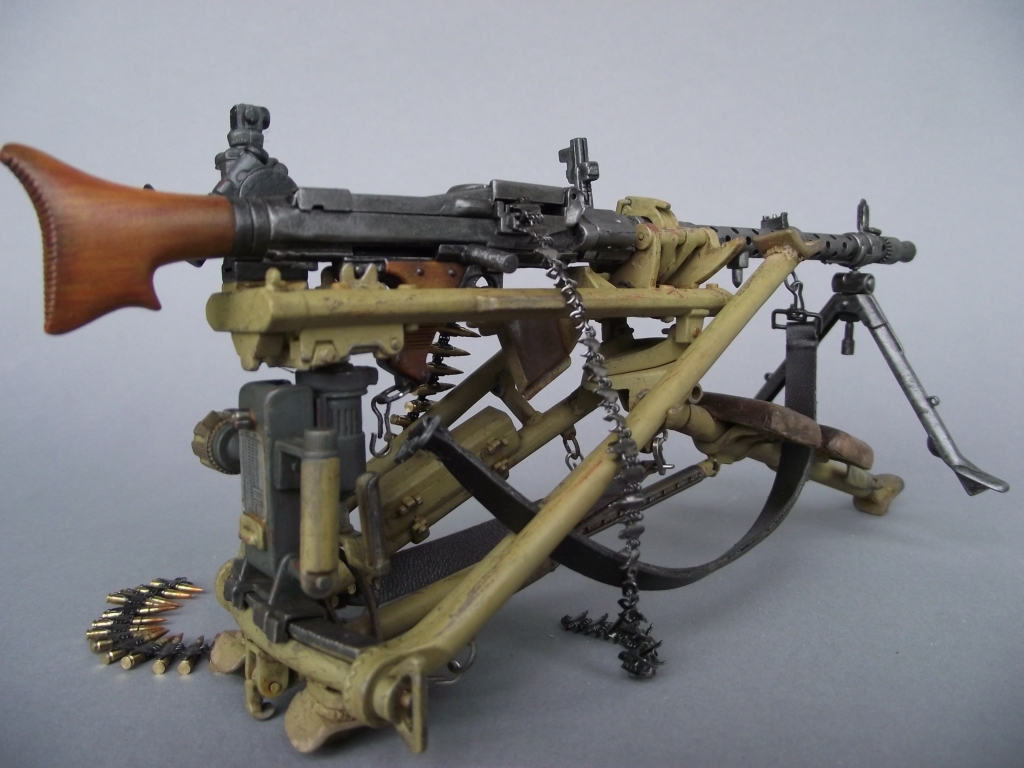 MG 34 Tripod 1/6 Dragon Kit - Wehrmacht-Awards com Militaria Forums