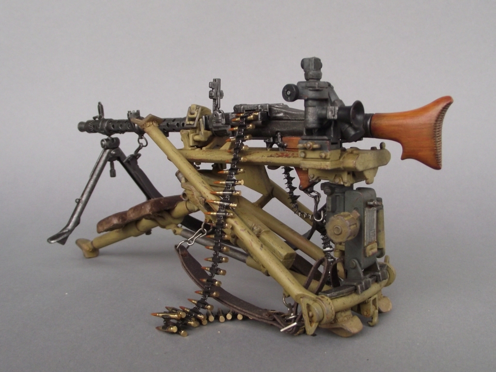 world at war wwi wwii civil wars mg 34 tripod 1 6 dragon kit. Black Bedroom Furniture Sets. Home Design Ideas